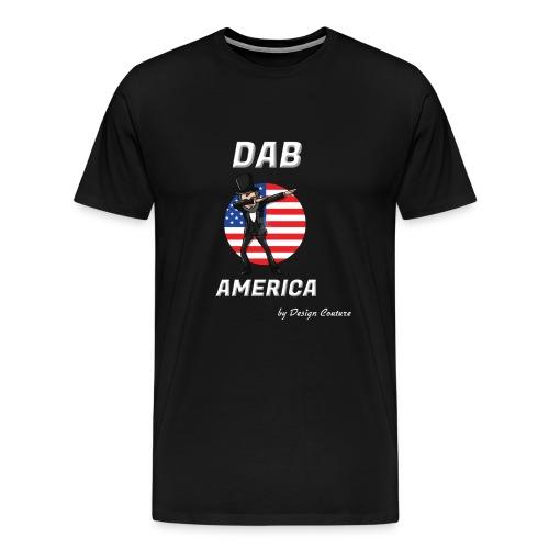 DAB AMERICA WHITE - Men's Premium T-Shirt