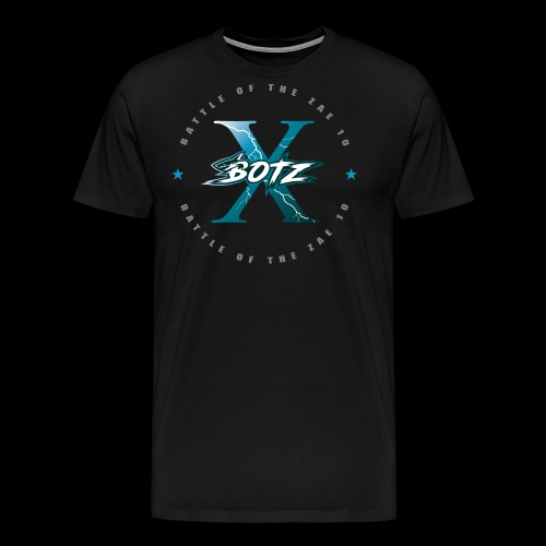 BOTZ X Circle Logo - Men's Premium T-Shirt