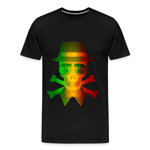 Rasta Man Rebel - Men's Premium T-Shirt