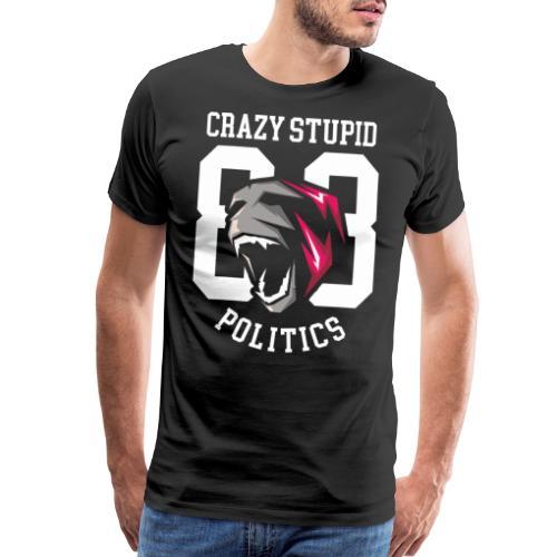 stupid politics - Men's Premium T-Shirt