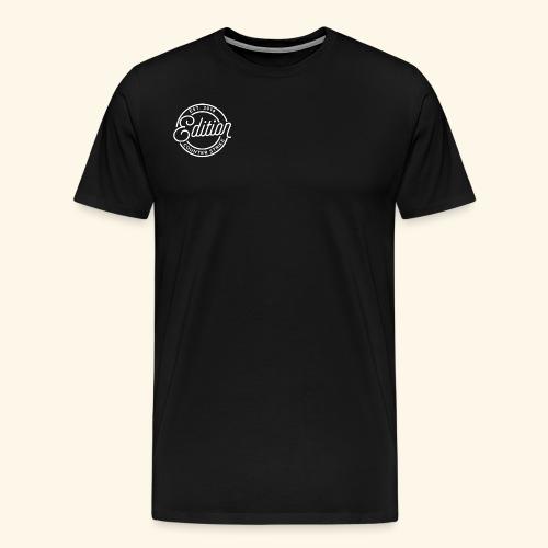 Edition Logo (White) - Men's Premium T-Shirt