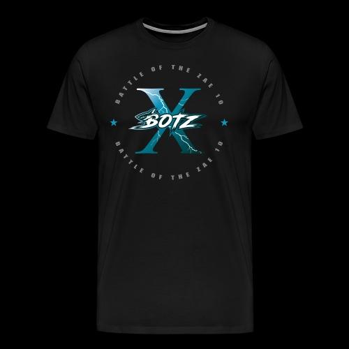 BOTZ X Circle Logo - Men's Premium T-Shirt