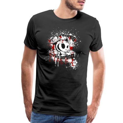 extreme carnivoring never gets boring! - Men's Premium T-Shirt