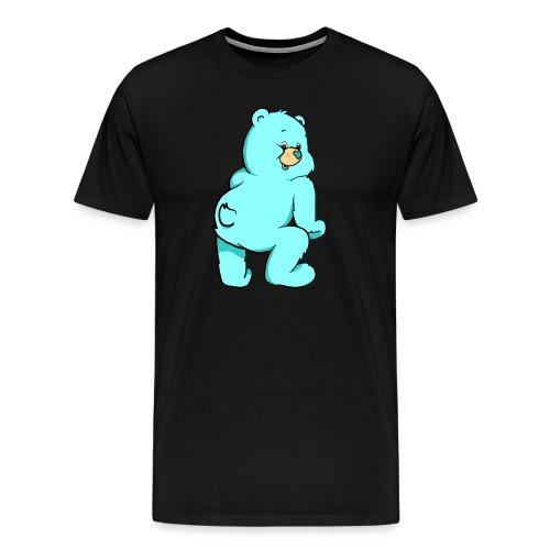 blue twerk - Men's Premium T-Shirt