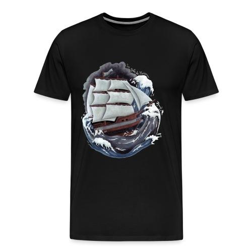 Le Noble Coursier - T-shirt premium pour hommes