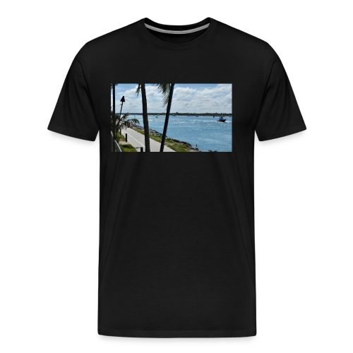 Fort Pierce Inlet - Men's Premium T-Shirt