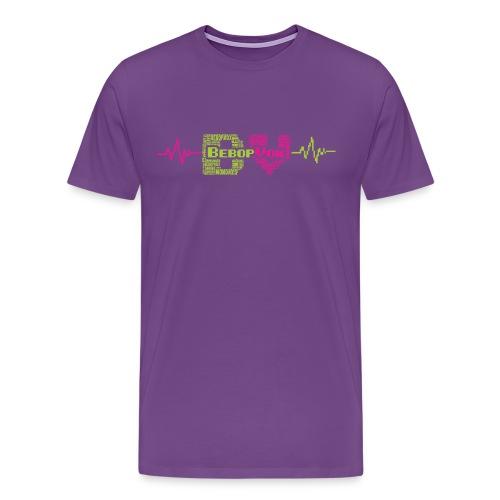 bebopvoxtextinsidetext - Men's Premium T-Shirt