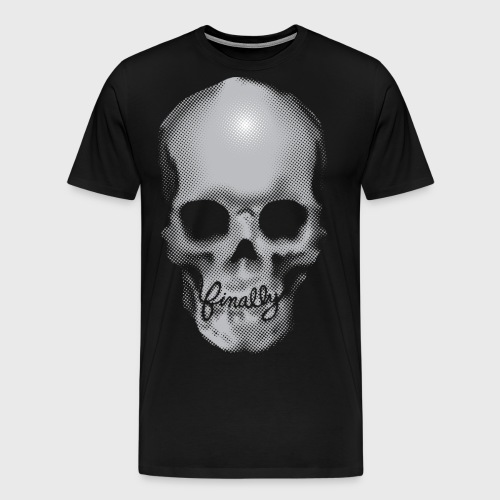 Finally Skull - Men's Premium T-Shirt
