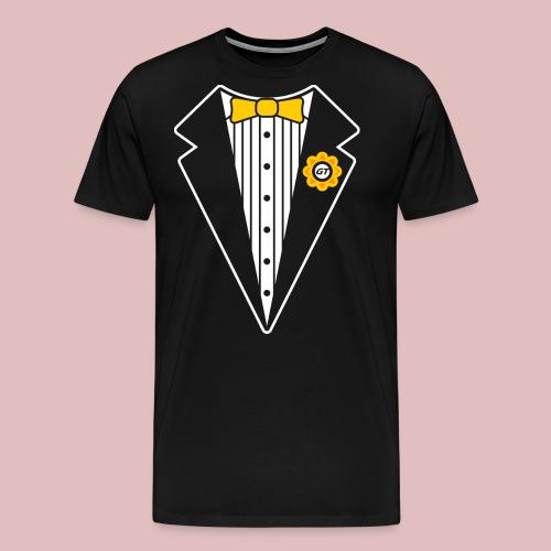 Keep It Classy Tux Shirt - Men's Premium T-Shirt