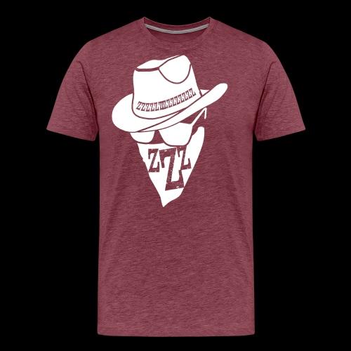 DREAM BANDITS WHITE Large Logo - Men's Premium T-Shirt