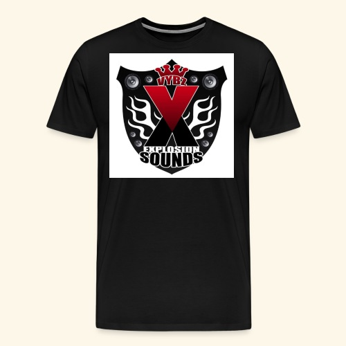 Vybz X Explosion Sounds Logo - Men's Premium T-Shirt