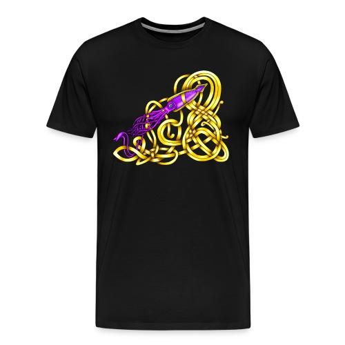Celtic Squid - Men's Premium T-Shirt
