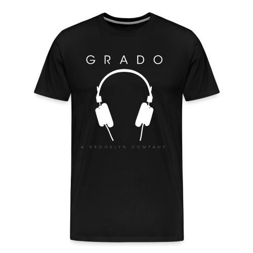 Grado BK Company Spredshirt White png - Men's Premium T-Shirt