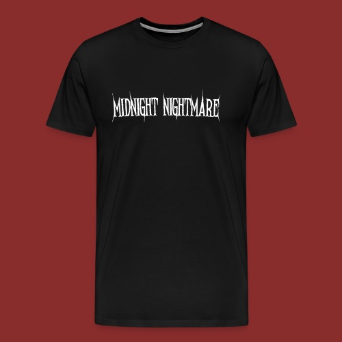 Midnight Nightmare Logo-w - Men's Premium T-Shirt