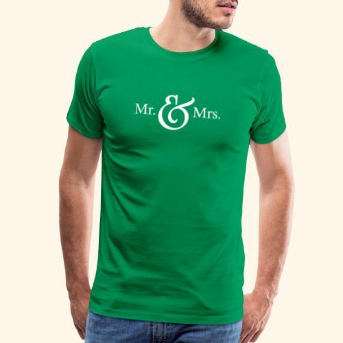 MR.& MRS . TEE SHIRT - Men's Premium T-Shirt