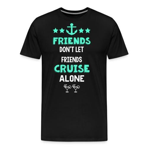 friendsalone - Men's Premium T-Shirt