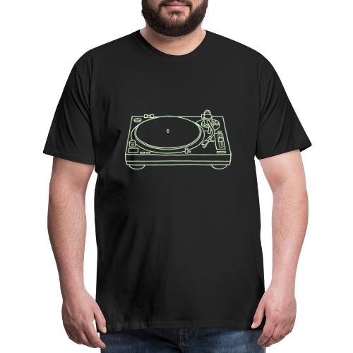 record player - Men's Premium T-Shirt