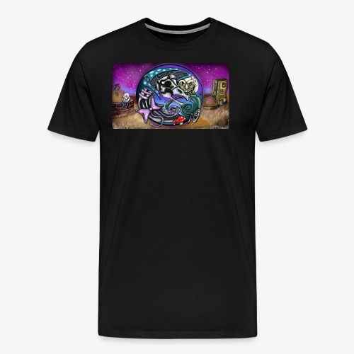 Mother CreepyPasta Land - Men's Premium T-Shirt