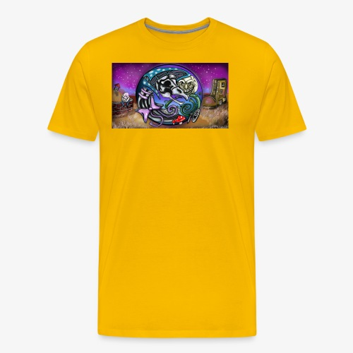 Mother CreepyPasta Land - Men's Premium T-Shirt