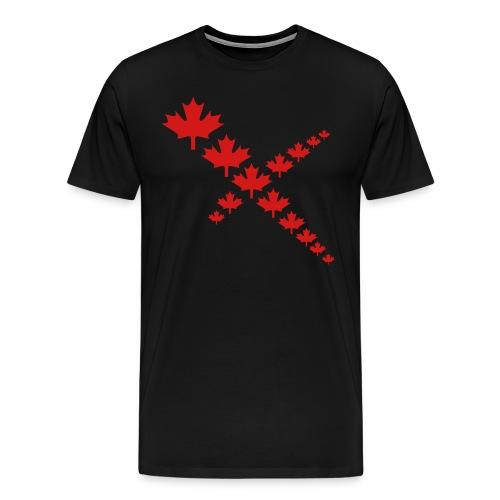 Maple Leafs Cross - Men's Premium T-Shirt