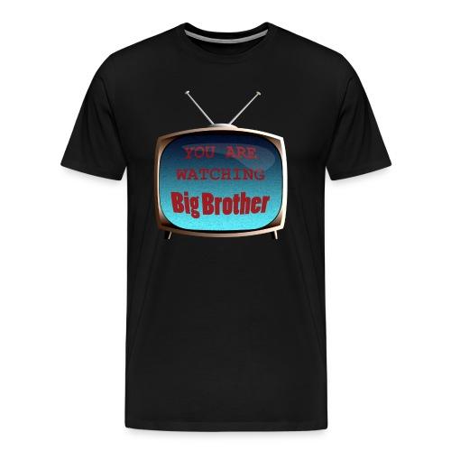 watchingbigbrother2 - Men's Premium T-Shirt