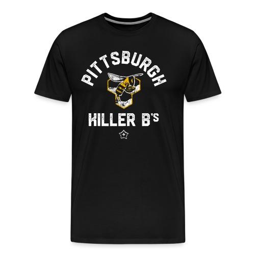 b s png - Men's Premium T-Shirt