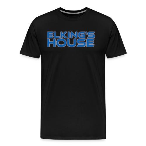 Elking s House png - Men's Premium T-Shirt