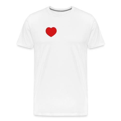 I Love my Siberian Husky - Men's Premium T-Shirt