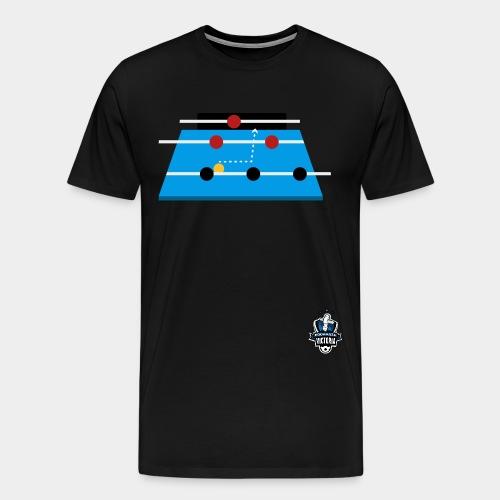 1 FoosballVic Logo png - Men's Premium T-Shirt