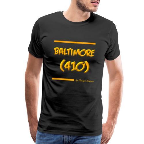 BALTIMORE 410 ORANGE - Men's Premium T-Shirt
