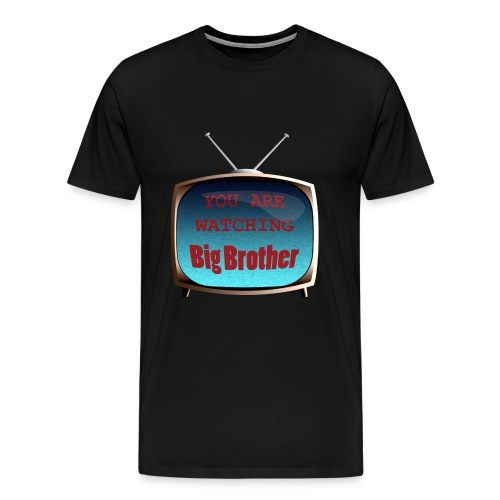watchingbigbrother2 - Men's Premium T-Shirt