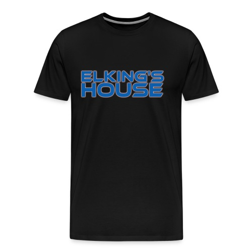 Elking s House png - Men's Premium T-Shirt