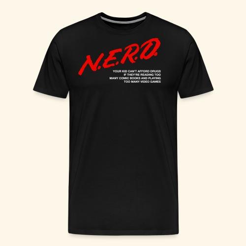 NERD Logo - Men's Premium T-Shirt