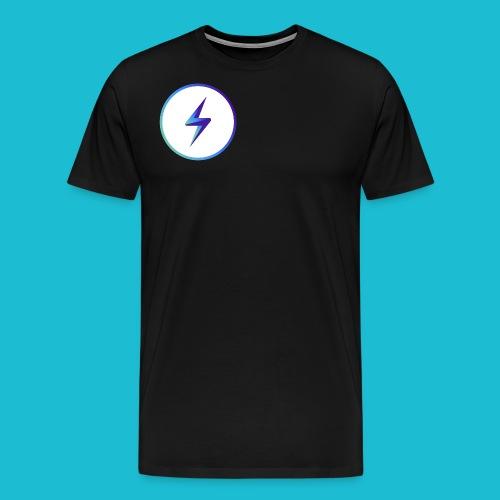 lightning logo - Men's Premium T-Shirt