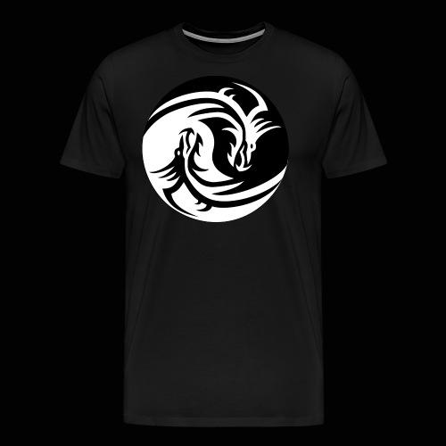 Ying Yang Dragon Merch - Men's Premium T-Shirt