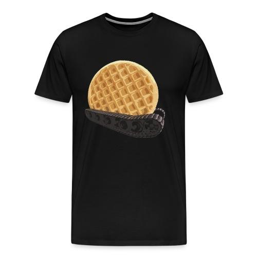 Waffle Traktor - Men's Premium T-Shirt