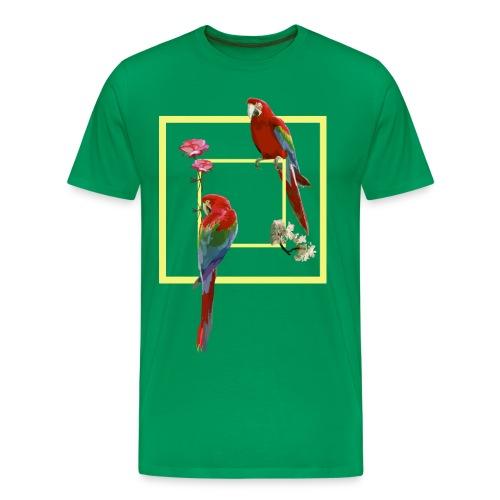 parrots - Men's Premium T-Shirt