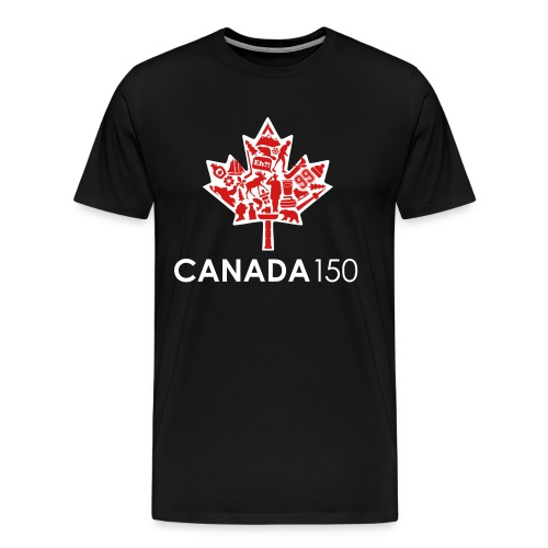 Canada 150 Womens - White - Men's Premium T-Shirt