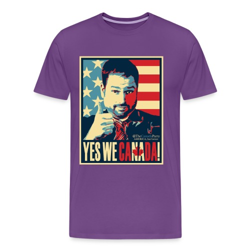 yeswecan - Men's Premium T-Shirt