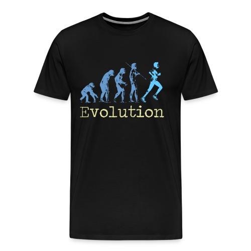 EVOLUTION OF RUNNING - Men's Premium T-Shirt