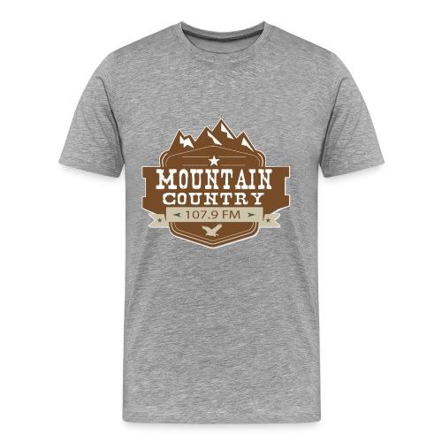 Mountain Country 107.9 - Men's Premium T-Shirt