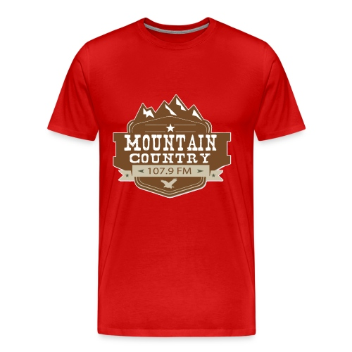 Mountain Country 107.9 - Men's Premium T-Shirt