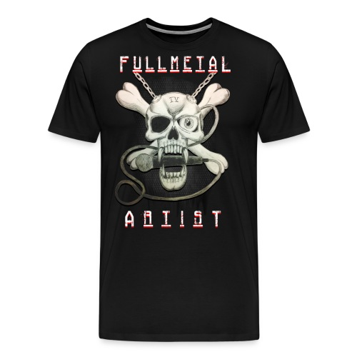 Heavy Metal FMA Skull - Men's Premium T-Shirt