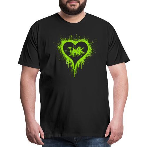 I Love Ink_green - Men's Premium T-Shirt