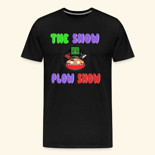 Snow Plow Show T shirt by Jaahso png - Men's Premium T-Shirt