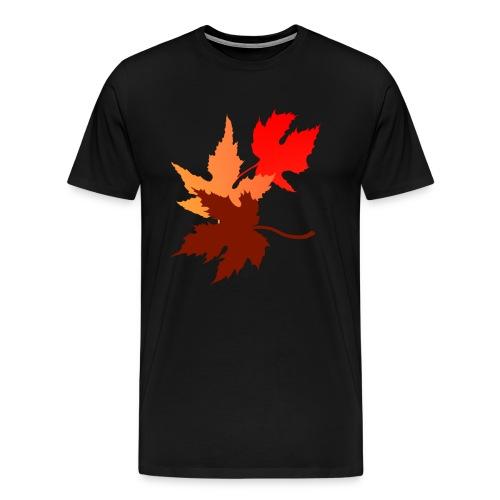Three Leaves - Men's Premium T-Shirt