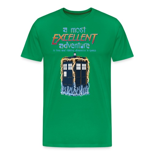 Most Excellent Adventure - Men's Premium T-Shirt