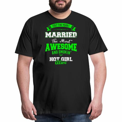 Married Husband - Men's Premium T-Shirt
