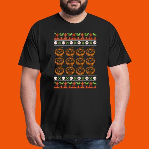 Ugly Halloween 1 - Men's Premium T-Shirt