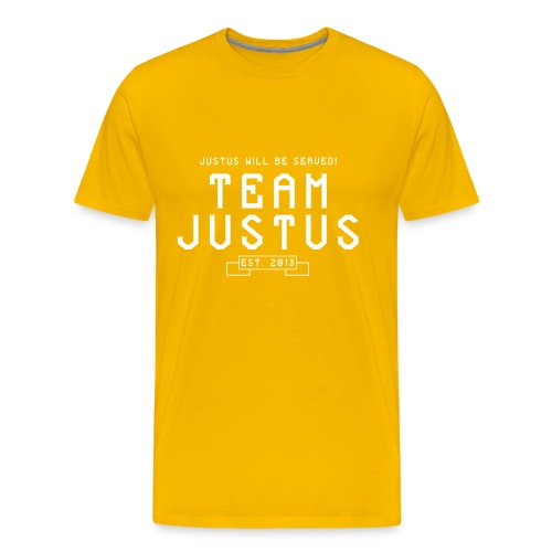 justus retro 2 - Men's Premium T-Shirt